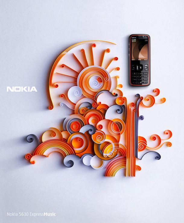 Nokia Ad by Yulia Brodskaya