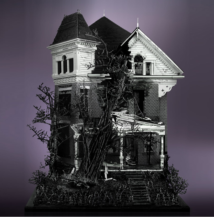 Mike Doyle's Three Story Victorian with Tree - Snap Blog